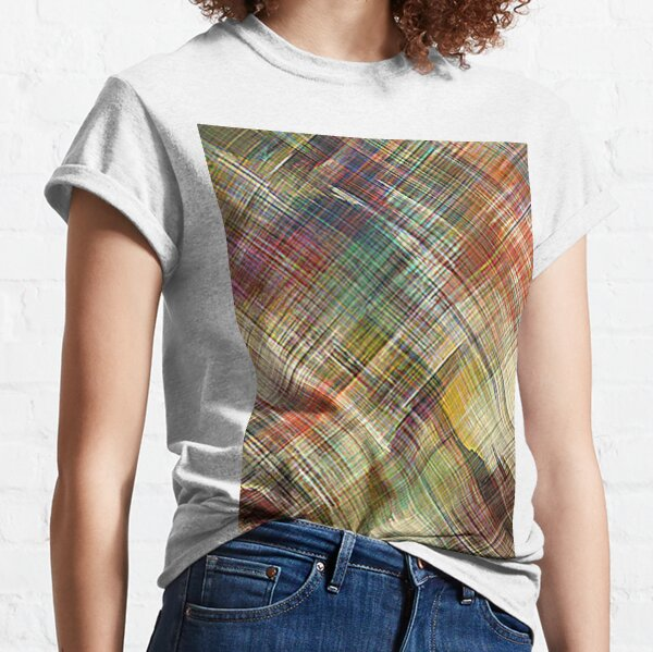 4am ABSTRACT TEXTURE TAPESTRY Classic T-Shirt