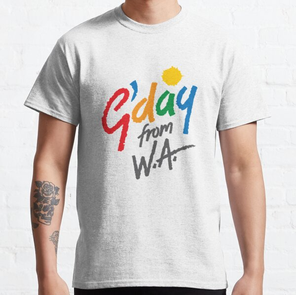 G'day from WA Classic T-Shirt