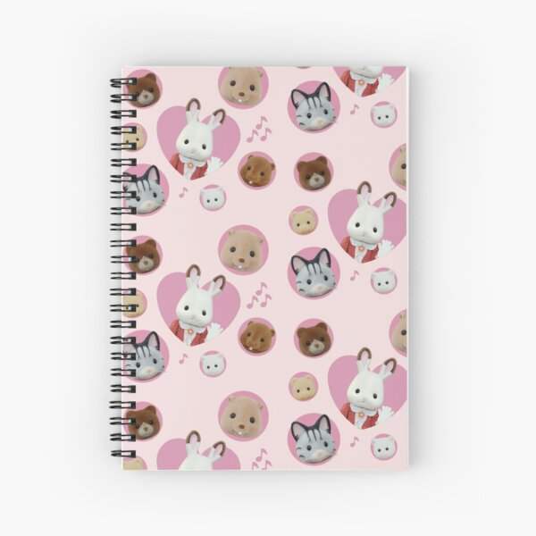Calico Critters/Sylvanian Families & Friends! Spiral Notebook