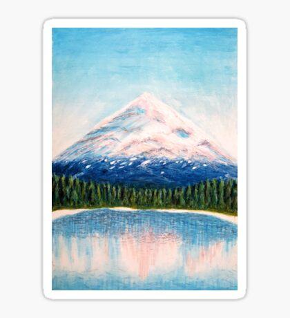 Dawn Mountain Sticker