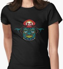Mario Jedi Womens Fitted T-Shirt