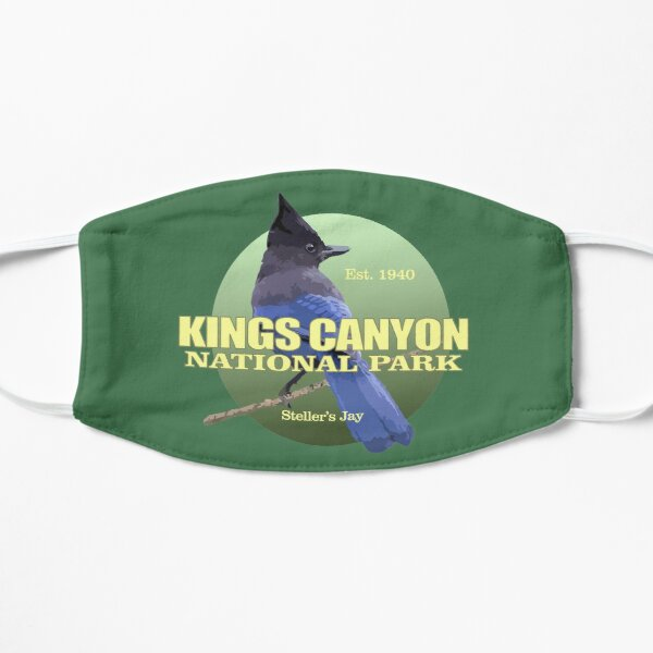 Kings Canyon National Park (Stellar's Jay)(WT) Flat Mask