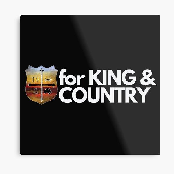for King and Country Christian Band/Music Metal Print