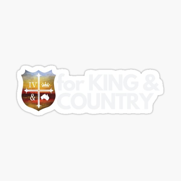 for King and Country Christian Band/Music Sticker