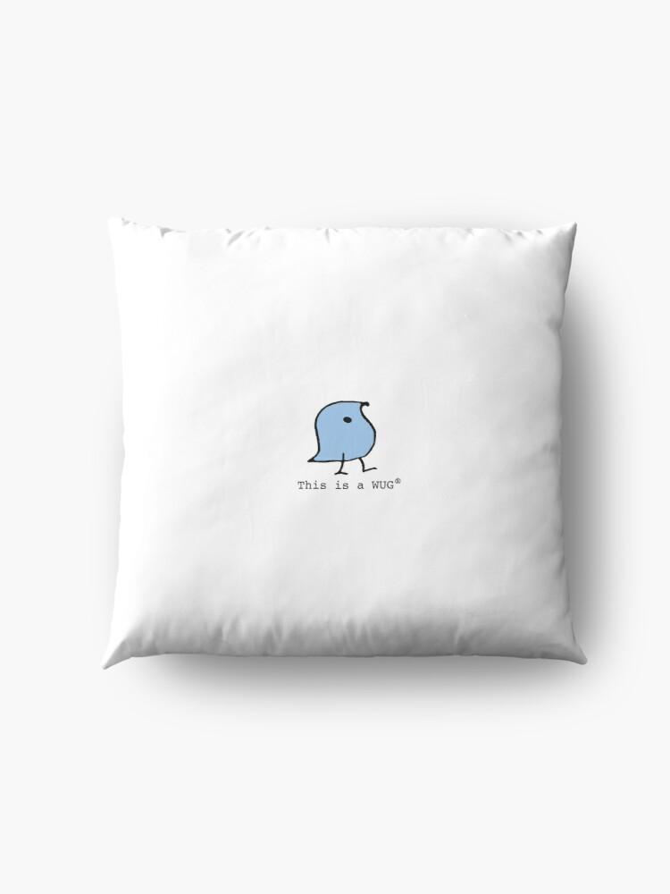 Alternate view of This is a WUG (R) Floor Pillow