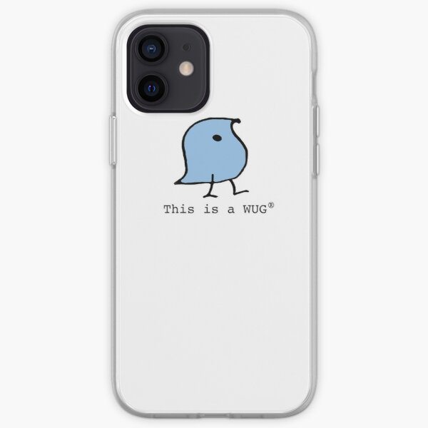 This is a WUG (R) iPhone Soft Case
