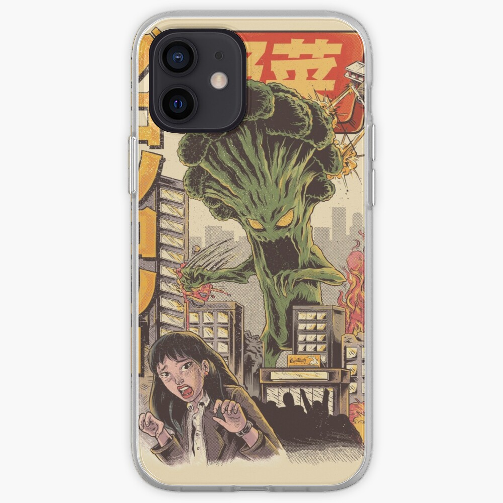 THE BROCCOZILLA iPhone Case & Cover