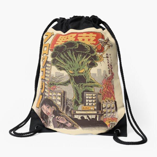THE BROCCOZILLA Drawstring Bag