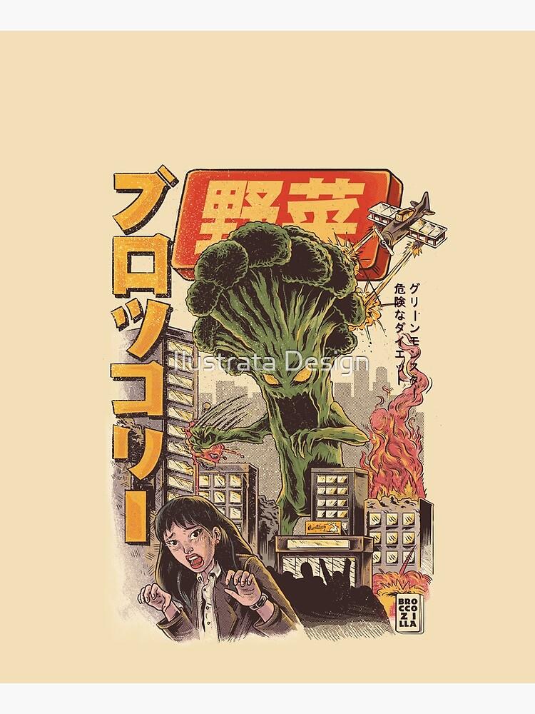 THE BROCCOZILLA by ilustrata