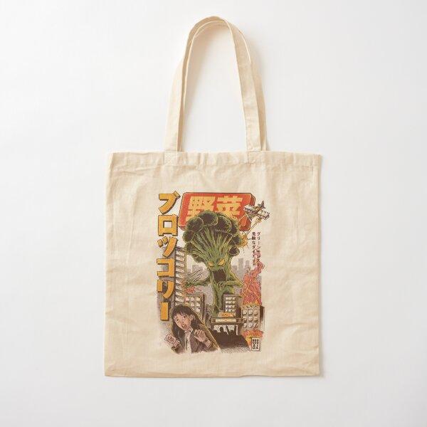 THE BROCCOZILLA Cotton Tote Bag