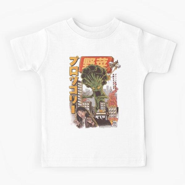 THE BROCCOZILLA Kids T-Shirt