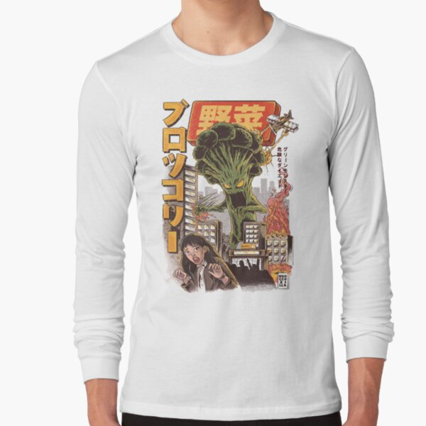 THE BROCCOZILLA Long Sleeve T-Shirt