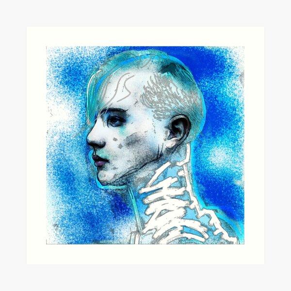 boys get blue too Art Print