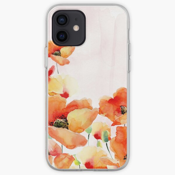 Beautiful Poppies iPhone Soft Case