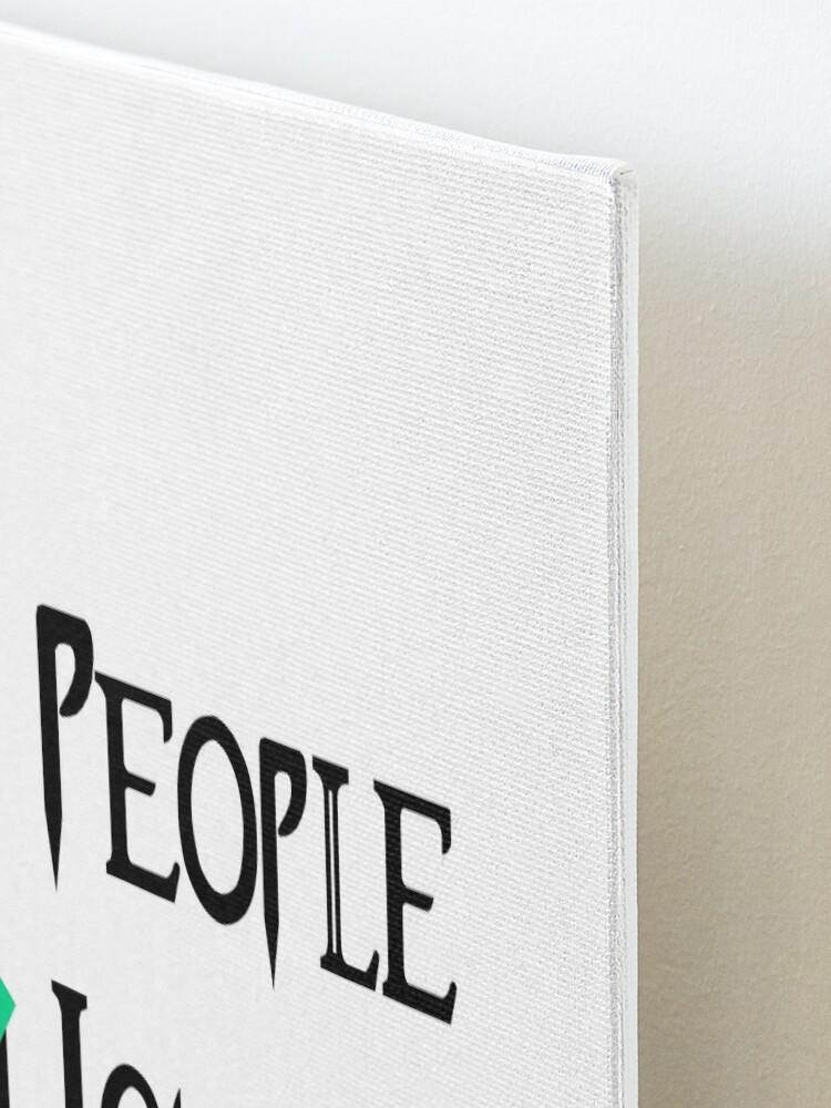 Alternate view of People - Nope, Iguanas - Yes! Mounted Print