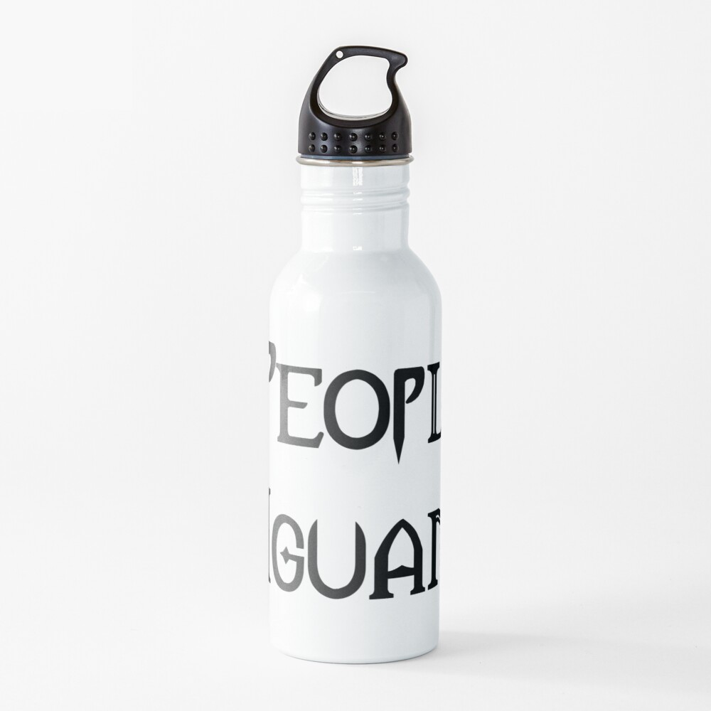 People - Nope, Iguanas - Yes! Water Bottle