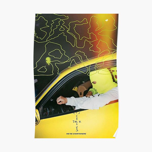 travis scott jackboys esthétique Poster