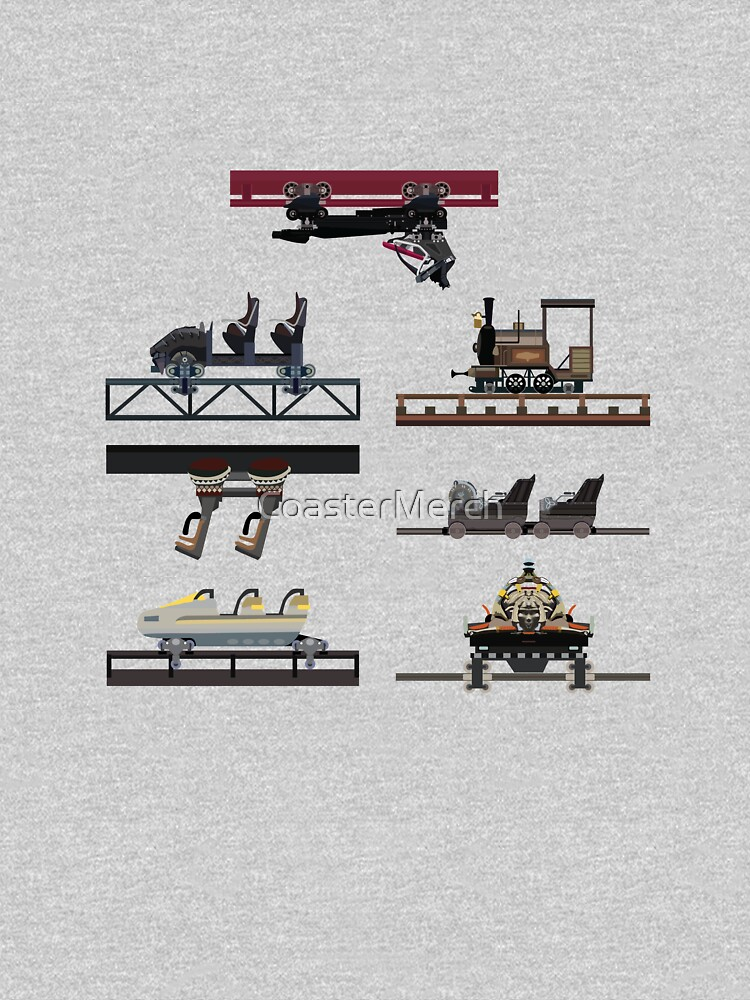Phantasialand Coaster Cars Design V2 - With F.L.Y by CoasterMerch