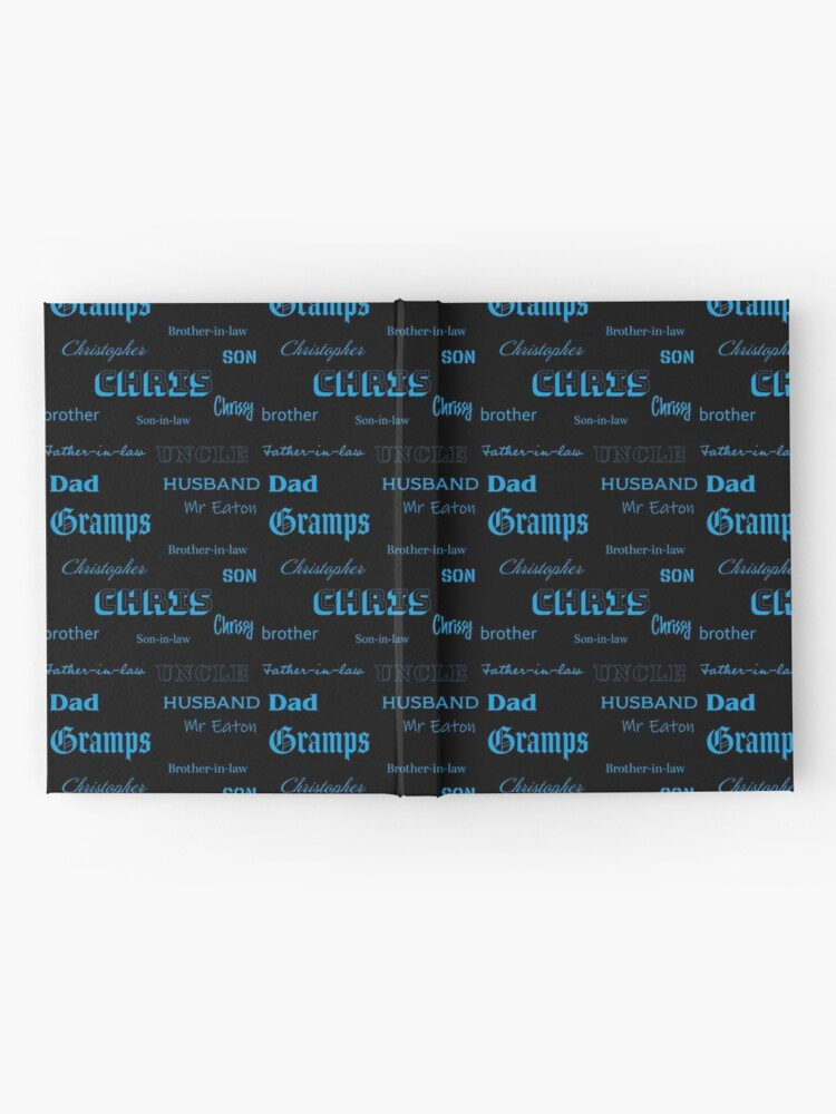 Alternate view of You are somebody - Chris Hardcover Journal
