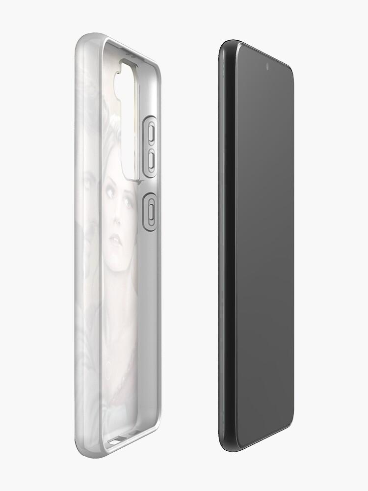 "Alternate view of ""Breathe, Swan..."" Samsung Galaxy Phone Case"