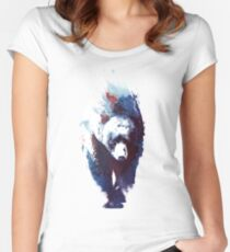 Death run Women's Fitted Scoop T-Shirt