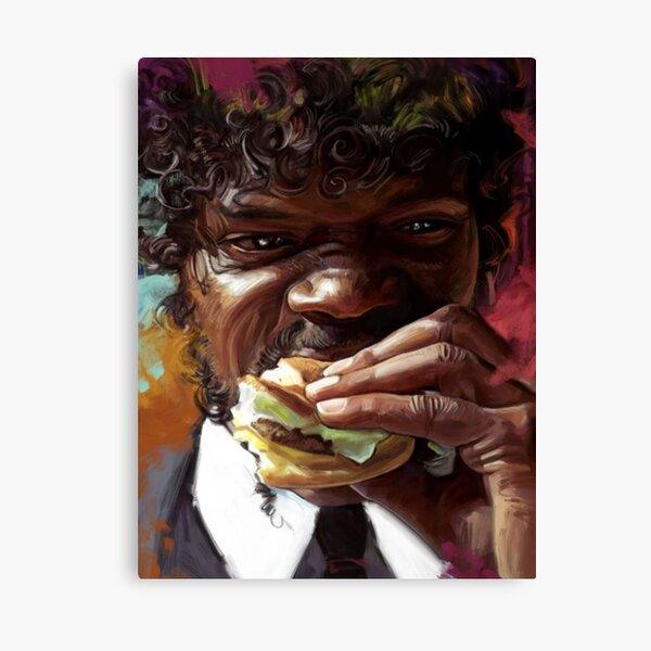 Pulp Fiction - Hamburger Canvas Print