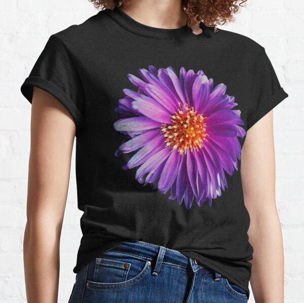 Wild purple african daisy flower photo Classic T-Shirt