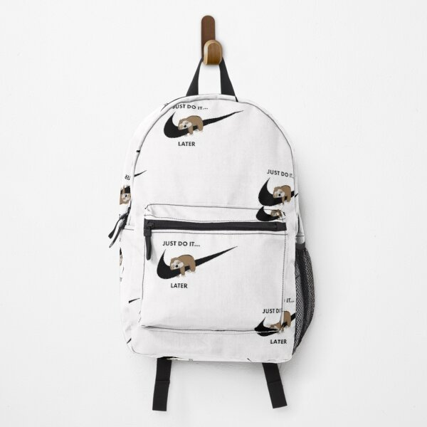 Lazy Sloth Just do it later  Backpack