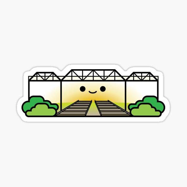 Wallace Avenue Pedestrian Bridge Glossy Sticker