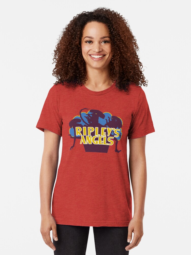 Alternate view of Ripley's Angels - Vintage Tri-blend T-Shirt