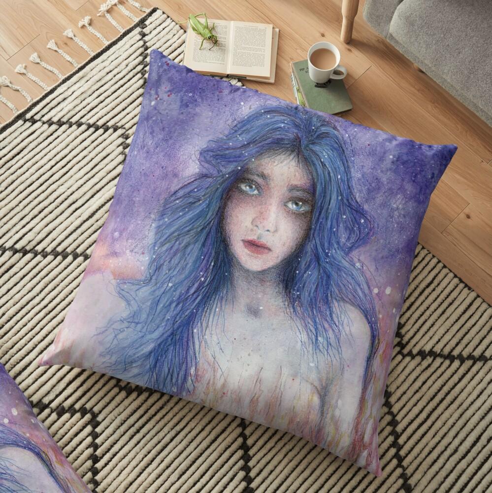 Vault in twillight Floor Pillow