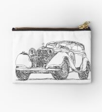 retro auto car Studio Pouch