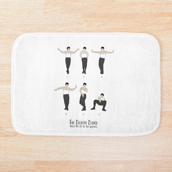 What we do in the Shadows - Deacon Dance Bath Mat