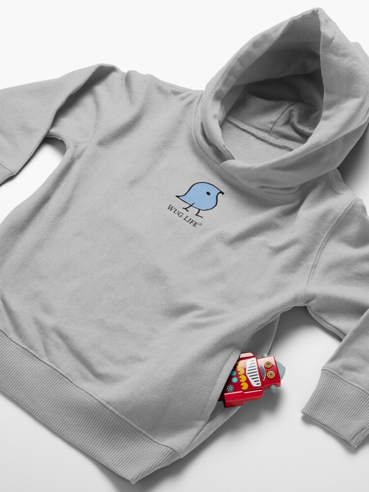 Alternate view of Wug Life Toddler Pullover Hoodie