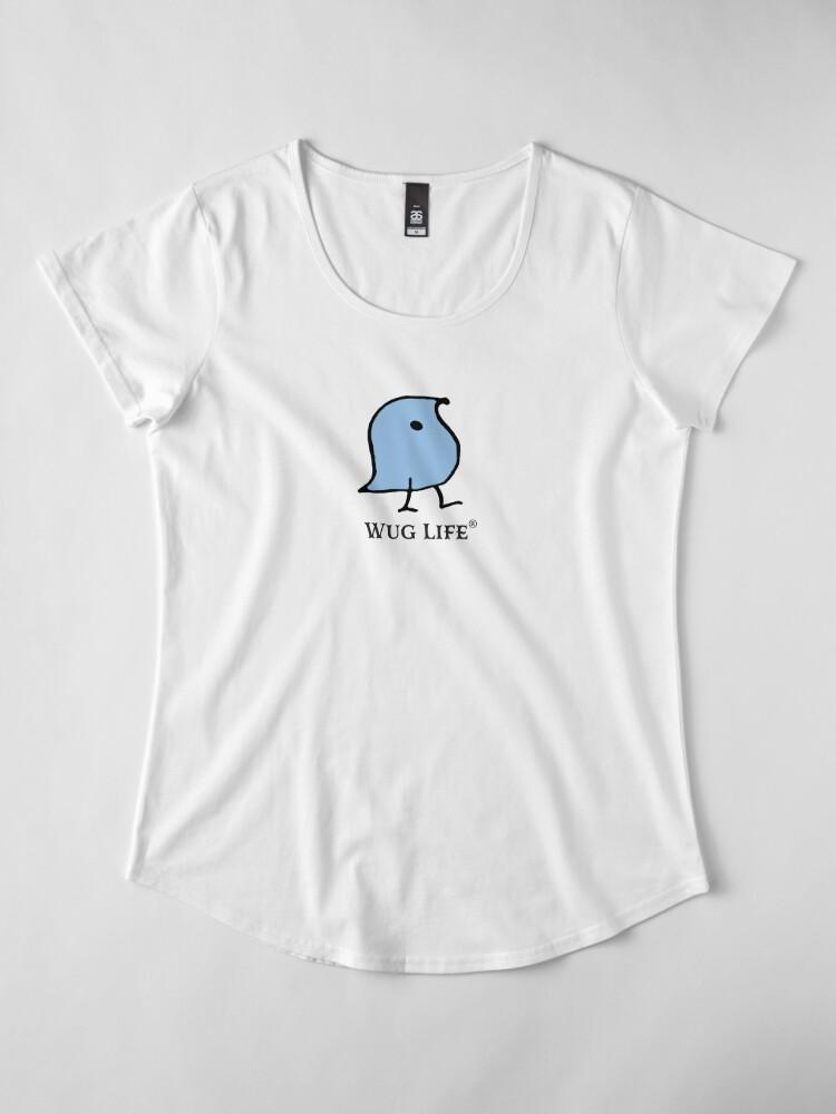 Alternate view of Wug Life Premium Scoop T-Shirt