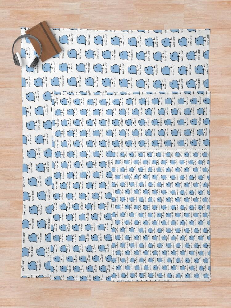 Alternate view of Wug Life Throw Blanket
