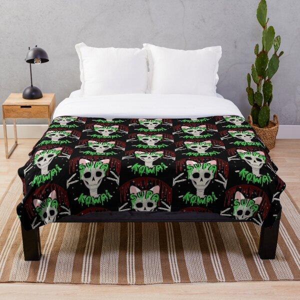 Supa Kowai Throw Blanket