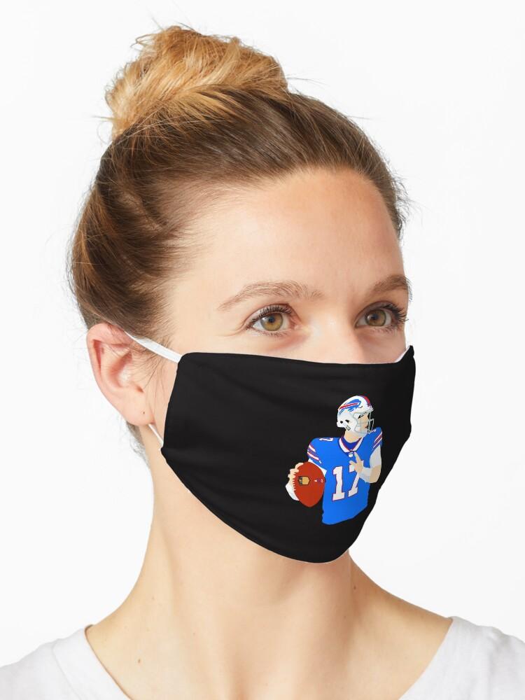 Josh Allen Bills Mask By Badluckdesigns Redbubble