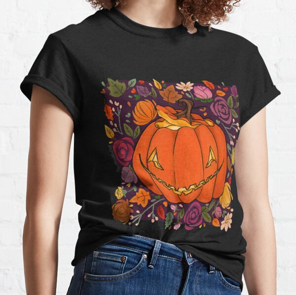 Fall Jack o Lantern Classic T-Shirt