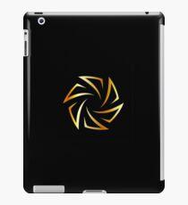 Golden aperture  iPad Case/Skin