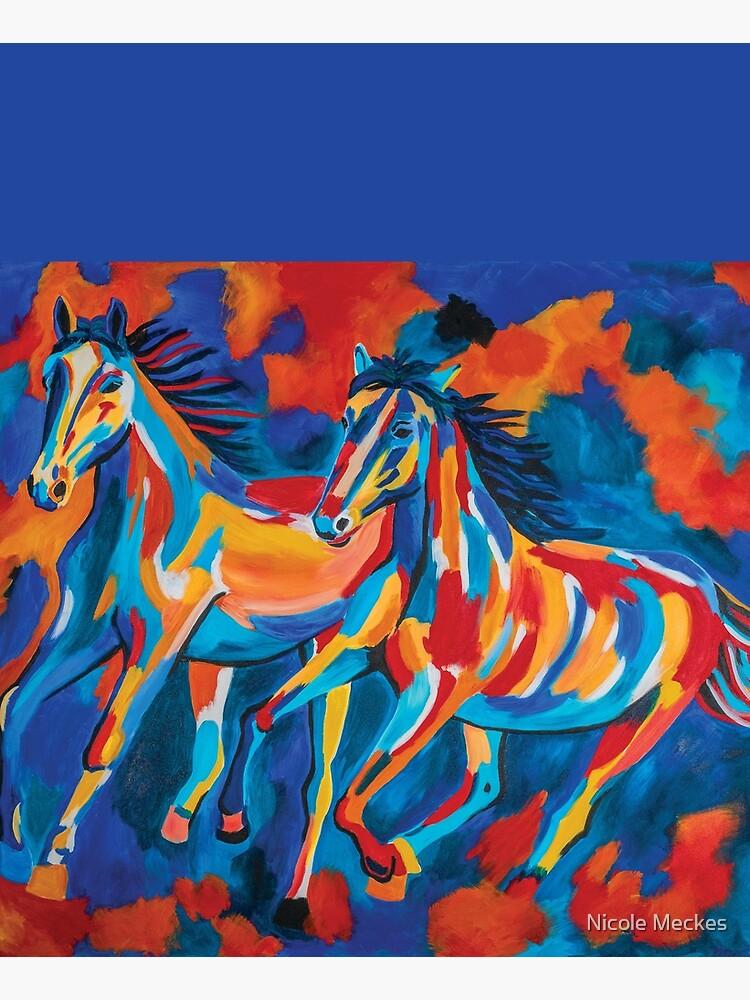 Wild Horses by Mangotreeart