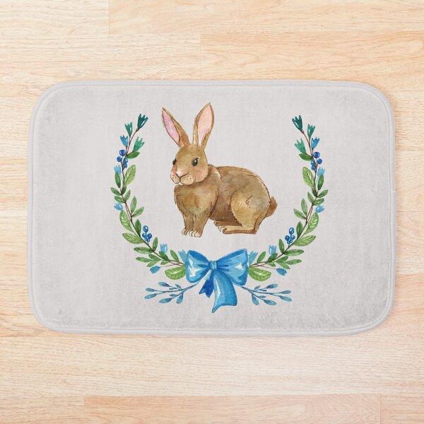 Bunny Rabbit cute Bath Mat
