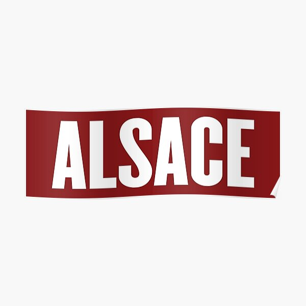 Alsace Poster