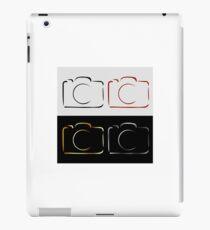 Abstract photography camera iPad Case/Skin