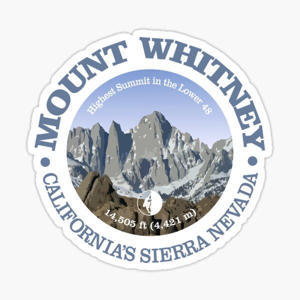 Mount Whitney (P) Sticker