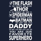Daddy-SuperHero by giftforfriend