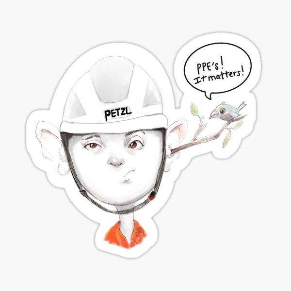 PPE's matter! Sticker
