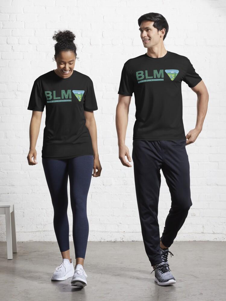 The Original Blm Bureau Of Land Management Color Active T Shirt By Enigmaticone Redbubble