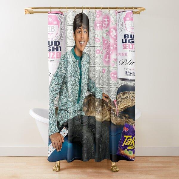 ravi and kipling meme Shower Curtain