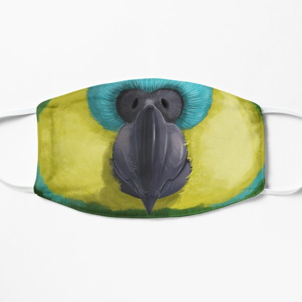 Blue-Fronted Amazon Parrot Face Mask Mask